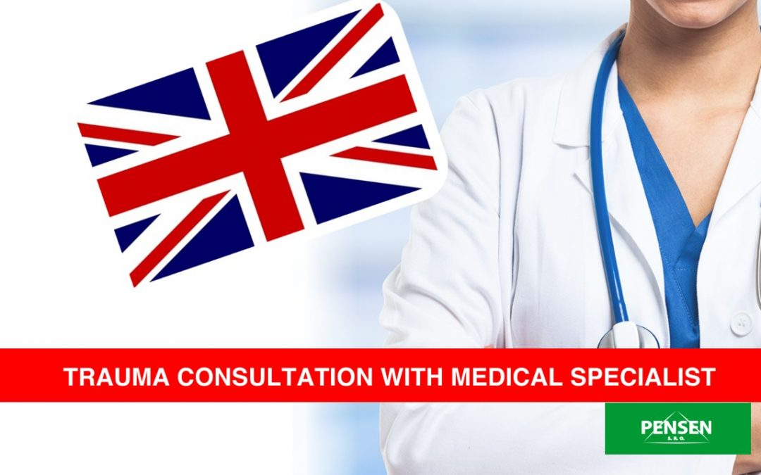 Trauma consultation with medical specialist